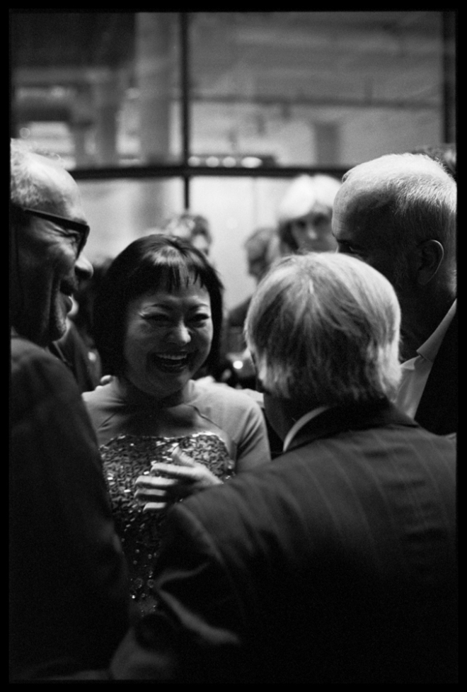 Nick Ut and Kim Phuc at Leica Store Manchester Kodak Tri-x 400 pushed to 1600
